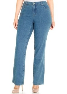 Charter Club Plus Size Straight-Leg Jeans, Only at Macy's