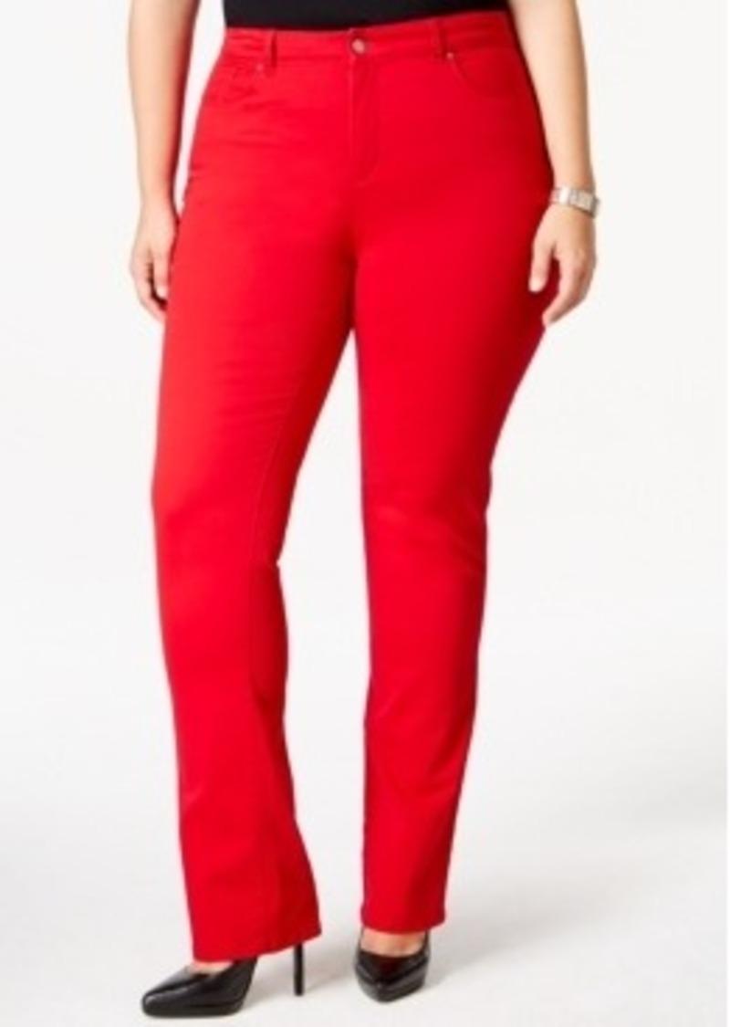 Similiar Plus Size Red Jeans Keywords