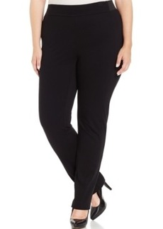 Charter Club Plus Size Twill Bootcut Pants, Only at Macy's