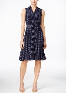 Charter Club Polka-Dot Shirtdress, Only at Macy's