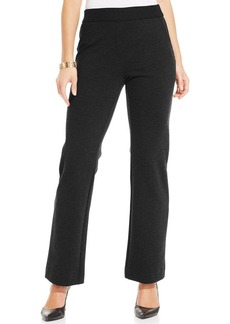 Charter Club Ponte-Knit Pull-On Trousers