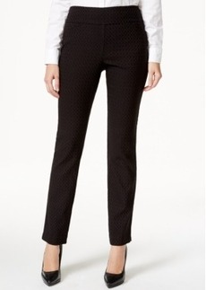Charter Club Printed Pull-On Pants, Only at Macy's