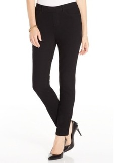 Charter Club Pull-On Skinny Jeans, Black Wash