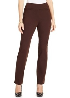 Charter Club Pull-On Slim Ponte Pants, Only at Macy's