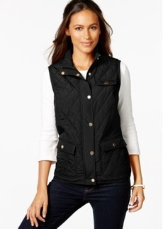 Charter Club Quilted 3-Pocket Vest, Only at Macy's