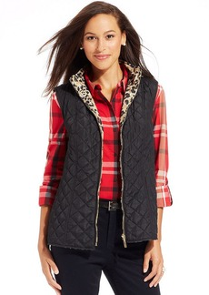 Charter Club Reversible Quilted Vest