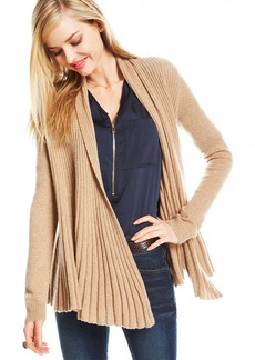 Charter Club Ribbed Cashmere Duster Cardigan
