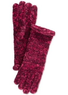 Charter Club Roll Top Marled Chenille Gloves