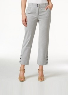 Charter Club Seersucker 3-Button Capri Pants, Only at Macy's