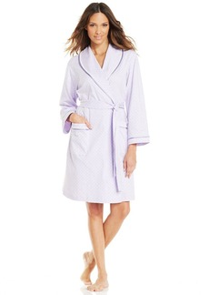 Charter Club Shawl Collar Short Robe