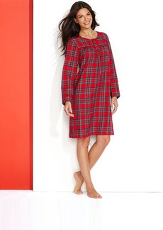 Charter Club Short Flannel Gown