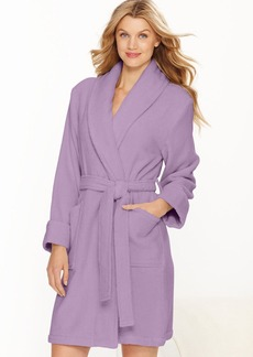 Charter Club Short Luxe Terry Robe