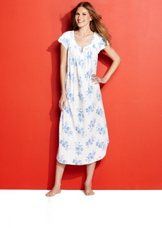 Charter Club Short Sleeve Long Gown