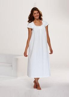 Charter Club Short Sleeve Pintuck Gown