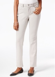 Charter Club Skinny Ankle Jeans, Embellished Pocket