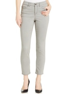 Charter Club Skinny Ankle Jeans, Gray Wash