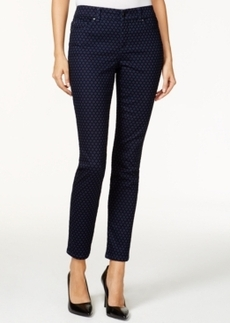Charter Club Skinny Ankle Jeans, Iconic Print