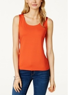 Charter Club Sleeveless Layering Shell