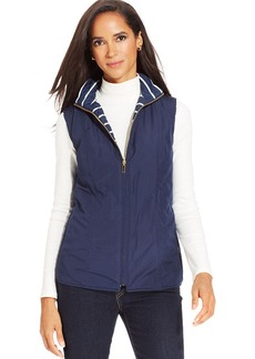Charter Club Sleeveless Reversible Vest