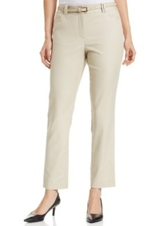 Charter Club Slim-Fit Belted Ankle Pants