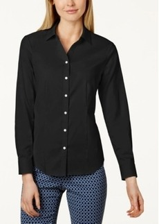 Charter Club Solid Button Down Shirt, Only at Macy's