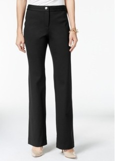 Charter Club Solid Ponte Trousers, Only at Macy's