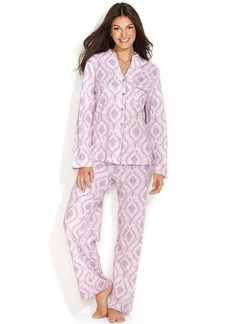 Charter Club Spa Knit Top and Pajama Pants Set