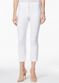 Charter Club Straight-Leg Cropped Pants
