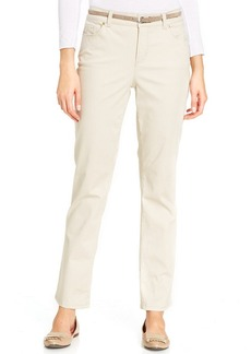 Charter Club Straight-Leg Pants