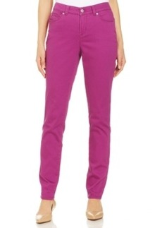 Charter Club Skinny Leg Ankle Pants, Purple Zest