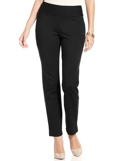 Charter Club Straight-Leg Ponte Pants