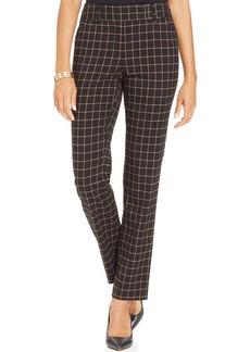 Charter Club Straight-Leg Printed Pants