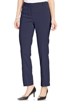Charter Club Straight-Leg Stretch Trousers