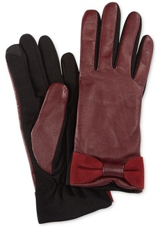 Charter Club Tech Bow Gloves