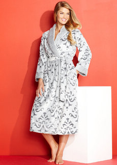 Charter Club Textured Embossed Supersoft Robe