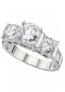 Charter Club, Three Stone Cubic Zirconia Ring