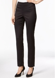 Charter Club Tile Pattern Side-Zip Pants, Only at Macy's