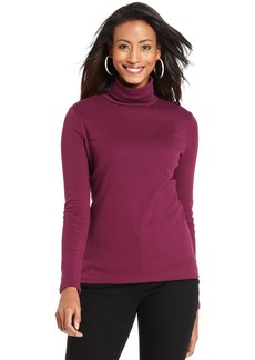 Charter Club Top, Long-Sleeve Turtleneck
