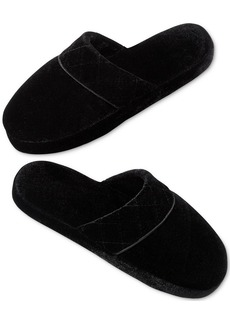 Charter Club Velour Slippers
