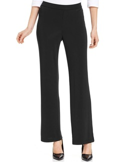 Charter Club Wide-Leg Pull-On Pants