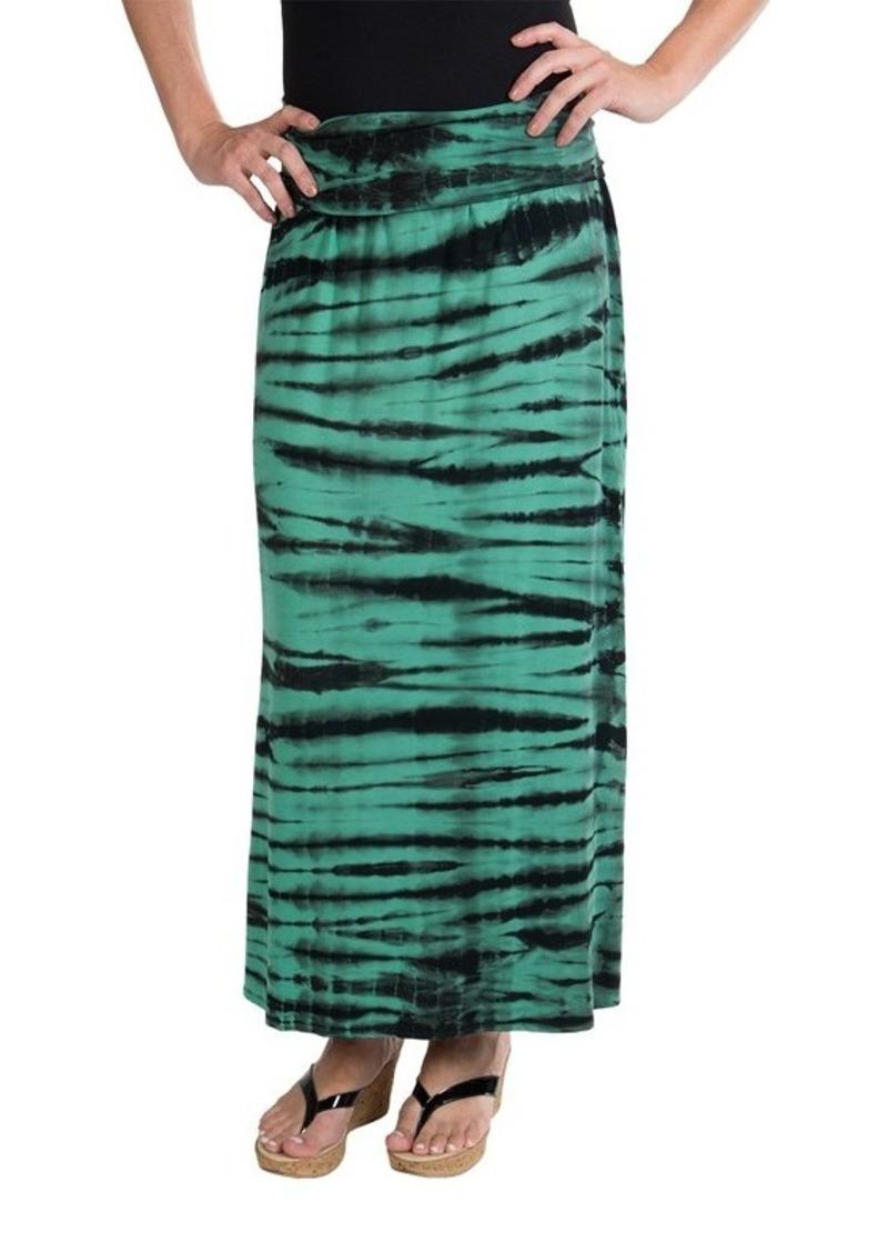 chaser chaser fold maxi skirt dress for