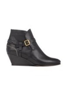 Chloé Buckle-Strap Wedge Ankle Boots
