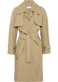 Chloé Convertible leather trench coat
