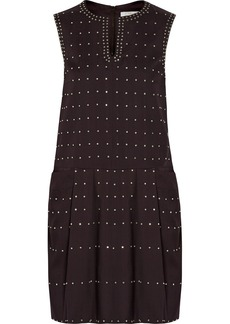 Chloé Crystal-embellished woven dress