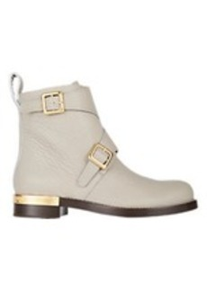 Chloé Double-Buckle Ankle Boots