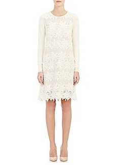 Chloé Embroidered Shift Dress