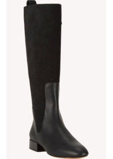 Chloé Leather & Suede Knee Boots