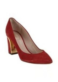 Chloé Plated Heel Point-Toe Pumps