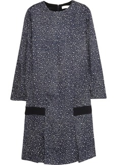 Chloé Printed silk-jacquard dress