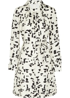 Chloé Printed silk-twill dress